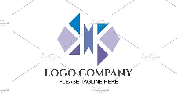 Abstract Construct Logo Template for corporate, office and company
