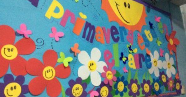 Periodico mural mes de abril 3 decoraci n de clase for Deportes para el periodico mural