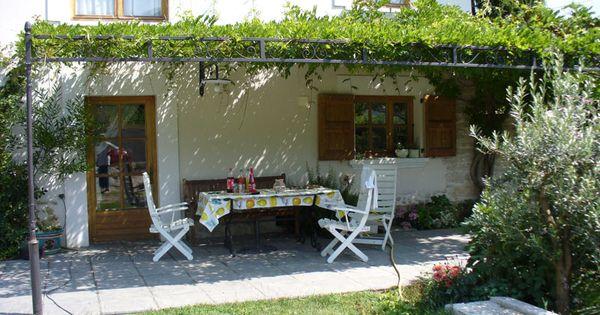 Terrasse Ferm E Grande Maison Personnaliser Dans Les
