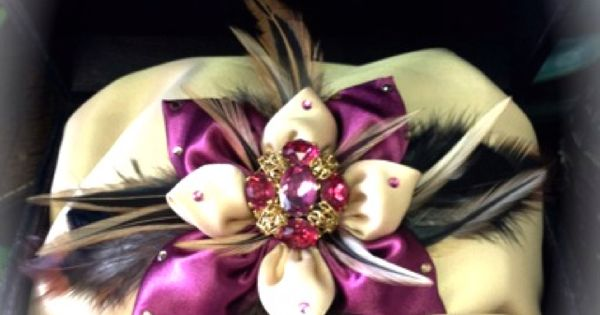 Vintage Jewelry & Fascinator piece for you dogs collars or it can be ...