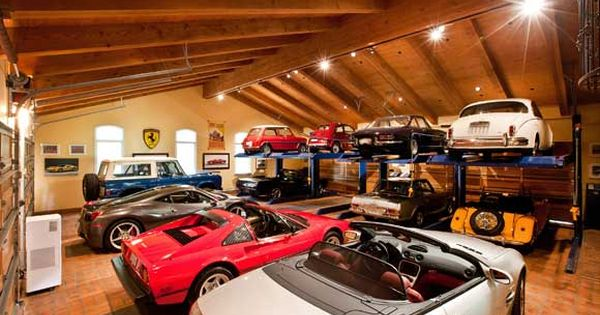 the 25 manliest homes in america nice cars and dream garage. Black Bedroom Furniture Sets. Home Design Ideas