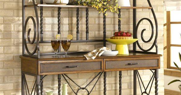 Sleek Designer Bakers Racks Furniture Bakers Rack