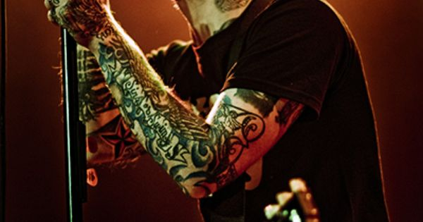 Brian Fallon Of The Gaslight Anthem People Who Inspire Me Pinterest