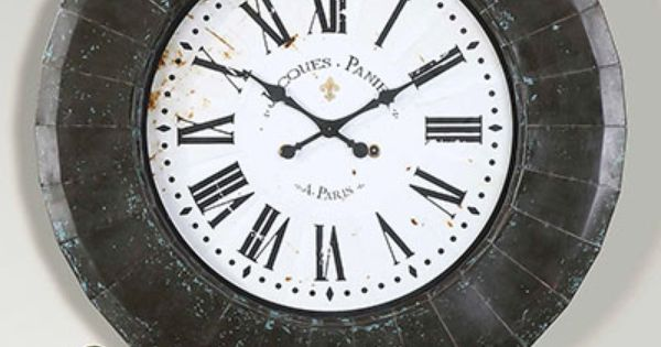 Peronell Clock For Collectors Decorators Or Designers