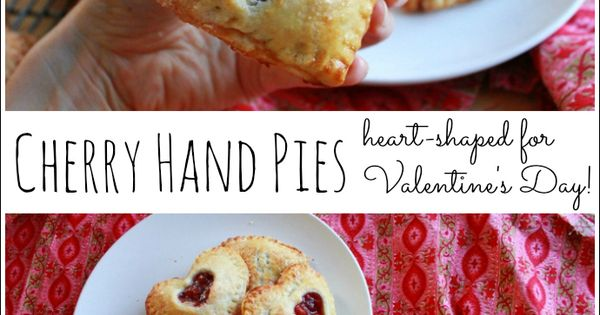 Cherry hand pies, Pies and So cute on Pinterest