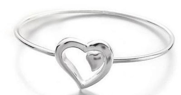 Tiffany & Co Outlet Heart Sevillana Bangle