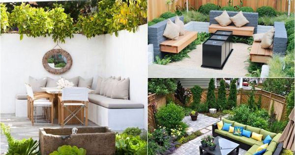 Petit jardin id es d 39 am nagement d co et astuces for Idee d amenagement interieur