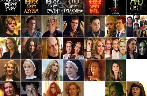 American horror story season one actors