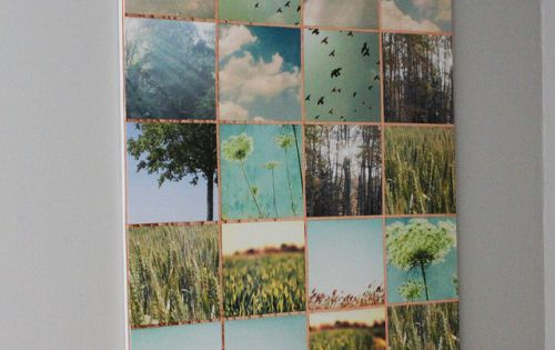 6 wall decor ideas the diy adventures upcycling for Do it yourself wall mural
