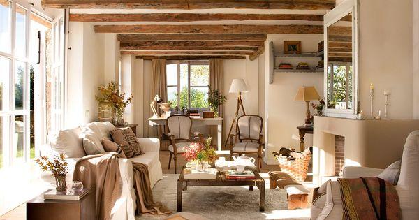De pajar en ruinas a casa de campo vital · ElMueble.com · Casas  홈 앤 ...