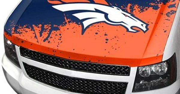 Denver Broncos Hood Cover Denver Broncos Nfl Car Nfl New England Patriots