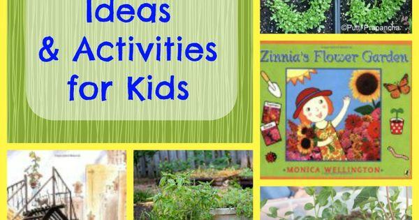 Kids Garden Activities