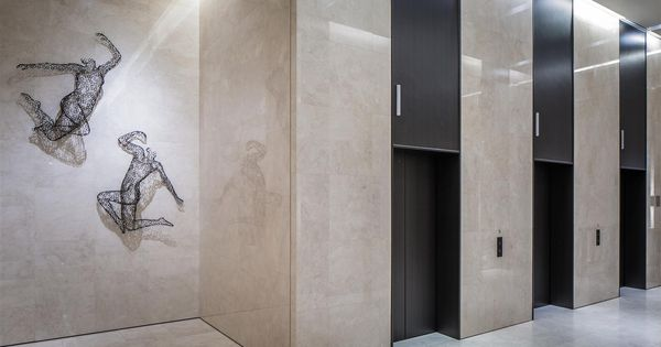 Lift Lobby At China Square Central Singapore By DP Design