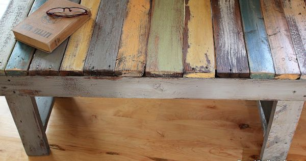 pallet wood bench, coffee table??