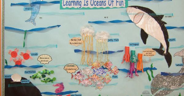 Classroom Decoration Ideas For Elementary ~ Under the sea classroom display photo gallery