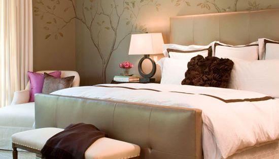 Neutral Natural Master Bedroom Mixing Masculine And Feminine Sensibilities Designer Julie