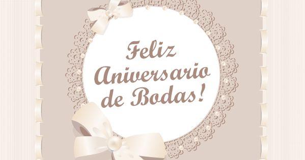 Frases Aniversario De Bodas: Tarjetas De Aniversario De Bodas
