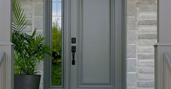 Single Front Door With One Sidelight Bing Images Front