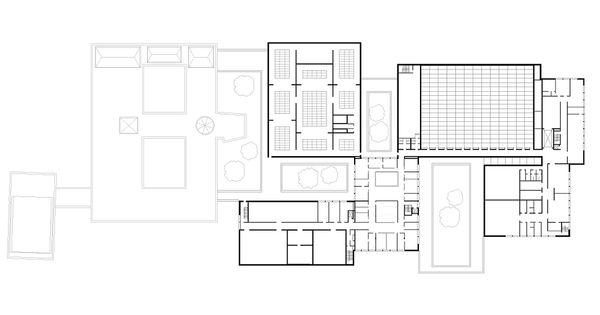 First Floor Elevation Definition : Museum folkwang essen first floor plan