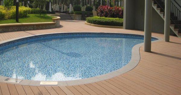 Pisos para piscinas materiales caracter sticas de - Materiales para piscinas ...