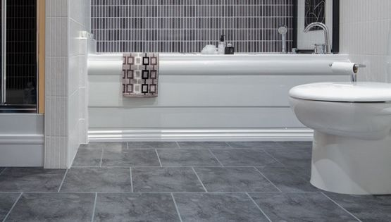 gray vinyl sheet flooring for bathroom flooring ideas 21267