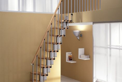 House staircase design guide 5 modern designs for every for Misterstep mini plus