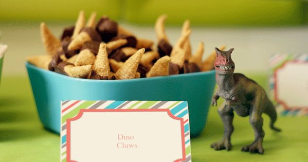 more dino party ideas and dinosaur-birthday-treats