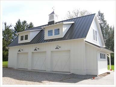 Post Frame Construction Ohio Hochstetler Buildings Inc Featured Projects Carriage House Garage Farmhouse Garage Building A House