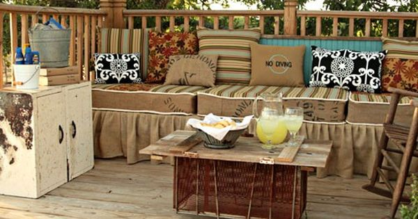 pics of diy back yard furniture | Places: DIY Furniture Ideas For