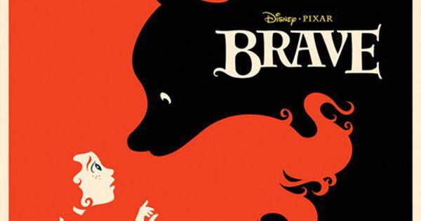 Disney's Brave Poster! woah!