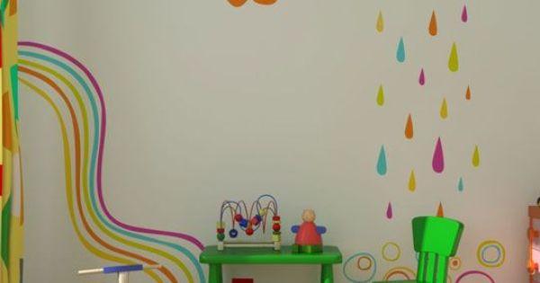 Decoracion de paredes de habitaciones para ni os buscar - Paredes habitaciones infantiles ...