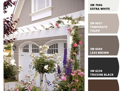 small colonial homes with shutters exterior [paint colors - Google ...