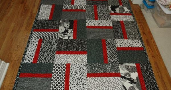 Easy Christmas Quilt