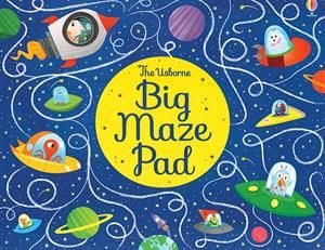 This Puzzle Packed Pad Contains 30 Tear Off Sheets With Fun Mazes To Solve Each Big Page Also Features Things To Spot And D Maze Puzzles Usborne Books Usborne