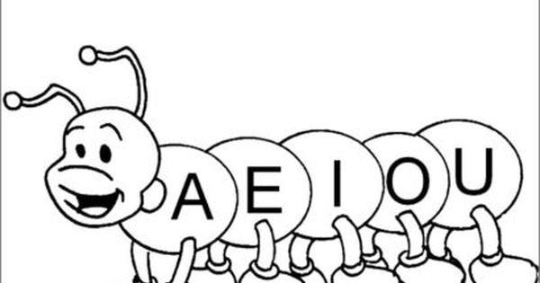 Letras Vogais Para Imprimir Para Atividades De Alfabetizacao Com