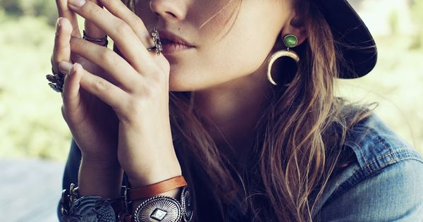 Accessories & more - bohemian style - monstylepin fashion accessories hat statementjewellery