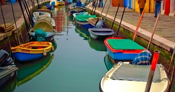 Burano, Italy. Just for the bright colours!
