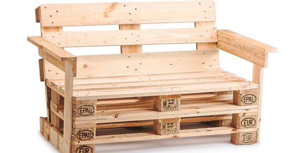 Gartenmöbel aus 4 Europaletten Eisdiele Interior Design Ideen - gartenmobel selber bauen anleitung
