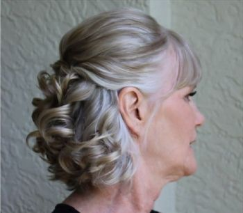 Moda Anti Idade Cabelo Para Festa Penteados Mãe Da Noiva