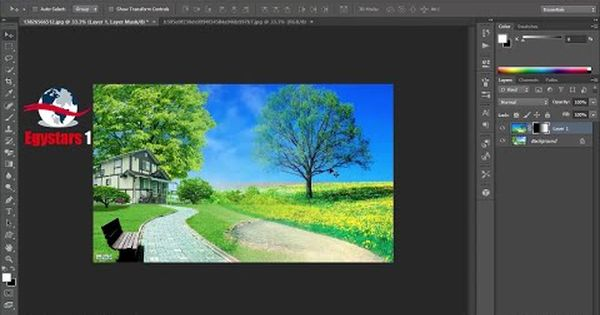 طريقة دمج صورتين بالفوتوشوب Youtube Pandora Screenshot Photoshop Screenshots