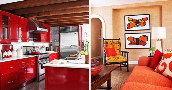 Crimson Kitchen Countertop Storage