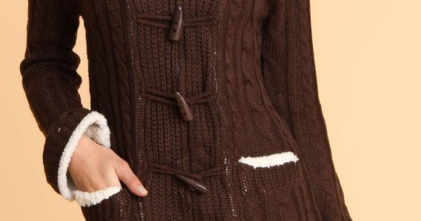 Yoki Oakham Sweater In Chocolate. I need this.