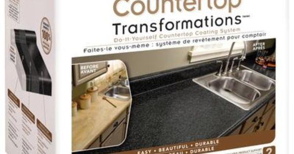 Countertop Transformations Charcoal Kit - 263830 - Home Depot Canada ...