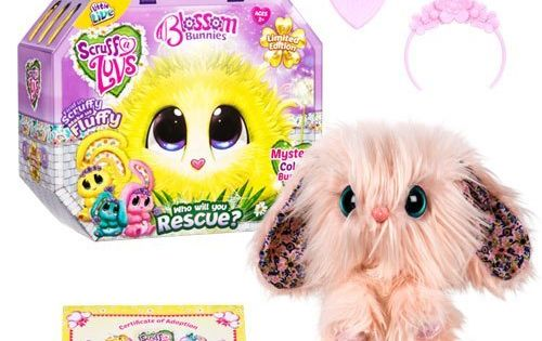 Toronto 4kids Contest Win A Scruff A Luv Blossom Bunny Contestbig Little Live Pets Cute Stuffed Animals Luvs