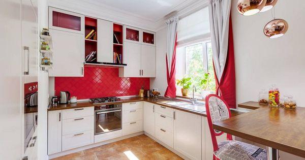 55 rideaux de cuisine et stores pour habiller les for Habiller fenetre de cuisine