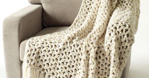 5 1 2 Hour Throw Crochet Pattern Getting Crafty
