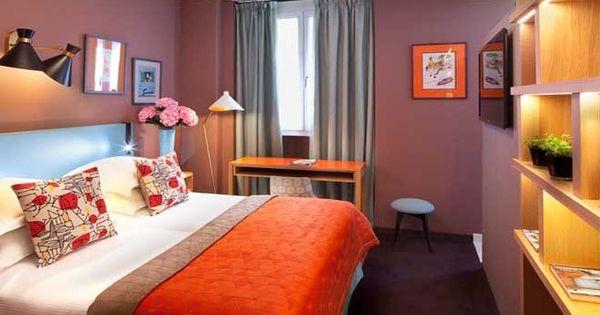 L artus h tel entre histoire et modernit bedrooms for Decoration interieur chambre hotel