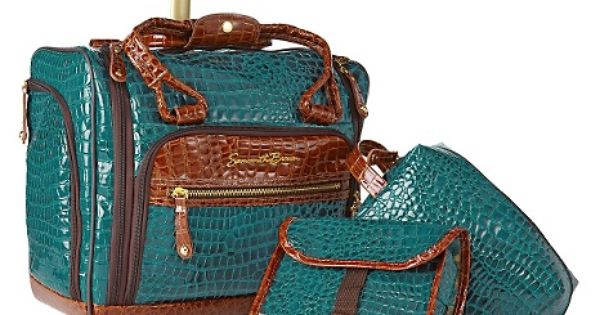 Samantha Brown Luggage Qvc: Samantha Brown Croco-embossed Under-seat Rolling Carry-on