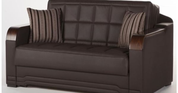 The Willow Convertible Full Size Loveseat Sofa Bed Click Clack By
