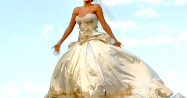 Beyonce S Wedding Dress In Best Thing I Never Had With Images